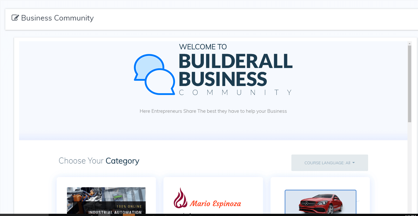 Builderall Business